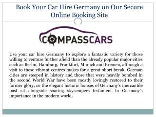 Car Hire Germany