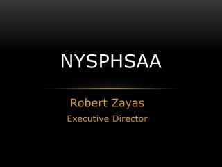 NYSPHSAA Report (2015)
