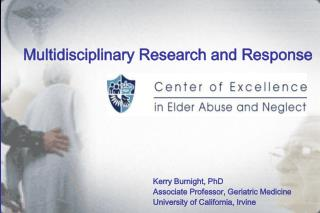Multidisciplinary Research and Response
