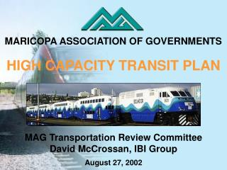 HIGH CAPACITY TRANSIT PLAN