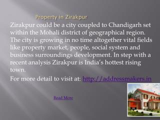 Property in Zirakpur