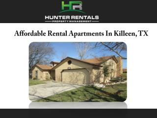 Affordable Rental Apartments In Killeen, TX