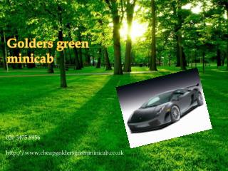 golders green minicab | temple fortune minicab