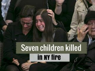 Seven children killed in NY fire