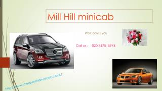 Transfer Service From Mill Hill