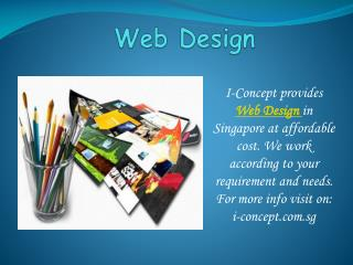 Effective Website Design Singapore with I-Concept