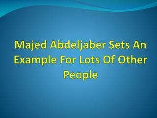 Majed Abdeljaber - American Immigration Center