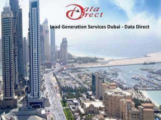 Lead Generation Services Dubai - Data direct