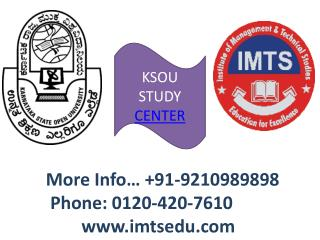 Karnataka State Open University Distance Education