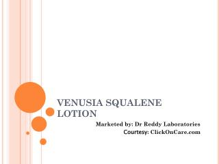Venusia squalene lotion online in India
