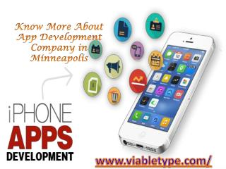Know More About App Development Company in Minneapolis