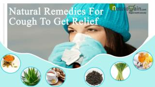 Natural Remedies For Cough To Get Relief And Clear Chest