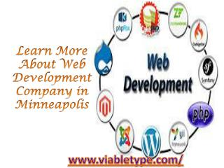 Learn More About Web Development Company in Minneapolis