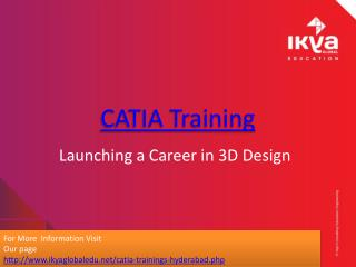 Catia Training - Ikya Global Education