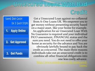 Unsecured Unemployed Loans  Sameday Transferred