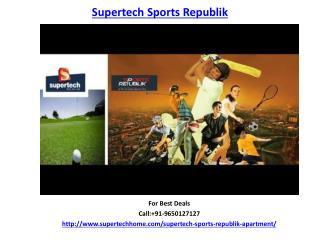 Supertech Sports Republik Apartments