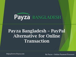 Alternative to PayPal in Bangladesh