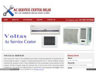 Voltas AC Repair and Installation