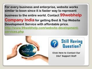 Top Website Development Service Company India