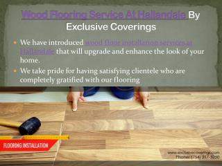 Wood Flooring Service At Hallandale By Exclusive Coverings