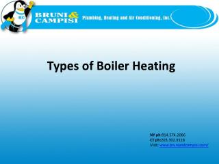 Types of Boiler Heating