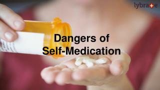 Say No To Self Medication!