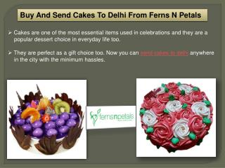 Order And Send Cakes Online To Delhi From FNP