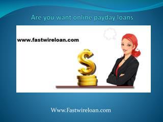www.fastwireloan.com