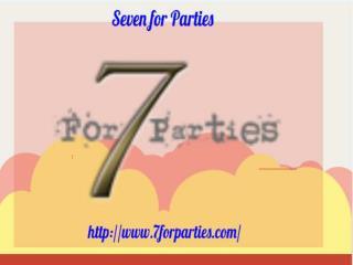 Dallas Wedding Venue - Seven for Parties