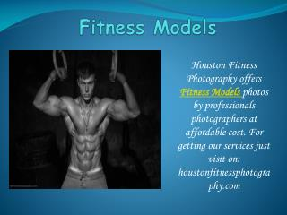 Make your bright career with Houston Fitness Photography