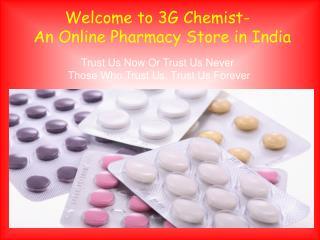 Online Pharmacy Store in India - 3G Chemist