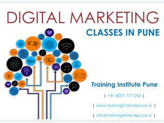 Digital Marketing Classes in Pune - Training Institute Pune