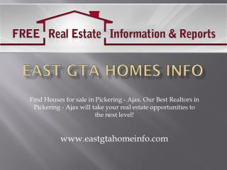 Houses for sale in Pickering, Houses for sale in Ajax