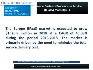 Europe Business Process as a Service (BPaaS) Market