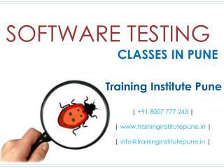 Software Testing Classes in Pune - Training Institute Pune