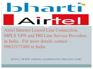 Airtel Mpls Vpn Services in Hyderabad - 09632177489