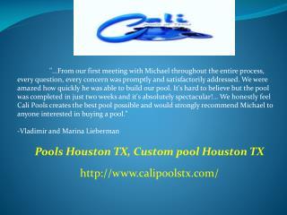 Pools Houston TX