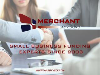 Merchant Advisors - Your Small Business Funding Experts