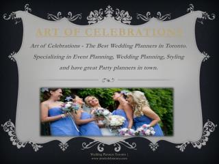 Wedding Planners Toronto