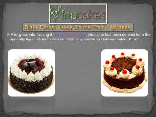 Buy And Send Black Forest Cake Online - Fnpcakes