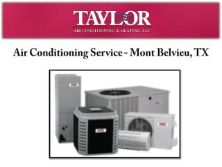 Air Conditioning Service- Mont Belvieu, TX