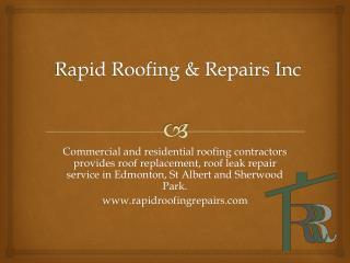 Roofing Contractors Edmonton