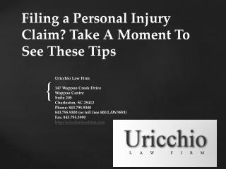 Personal Injury Lawyer Charleston SC