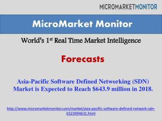 Asia-Pacific Software Defined Networking (SDN) Market is Exp