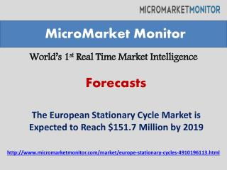 Research forecast of European Stationary Cycles Market by 20