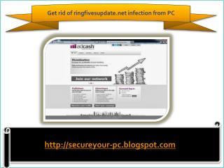How to remove ringfivesupdate.net