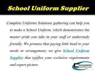 Affordable Wholesale Uniforms Supplier in Australia