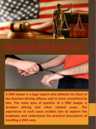 Houston Criminal Lawyer.