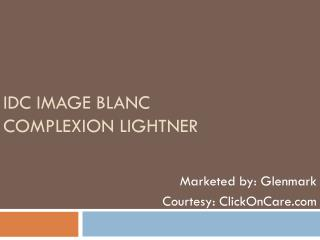 IDC Image Blanc Complexion Lightner Online in India