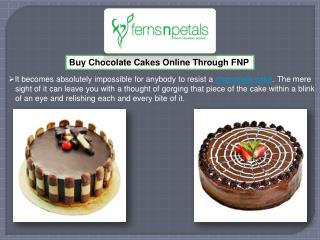 Order Chocolate Cakes Online Through Ferns N Petals
